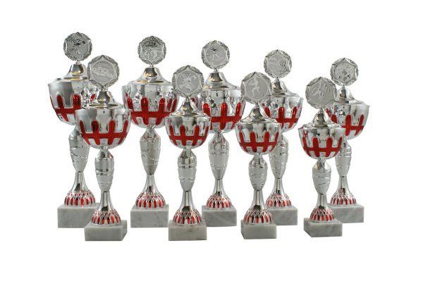 9er Pokalserie mit Deckel SA696