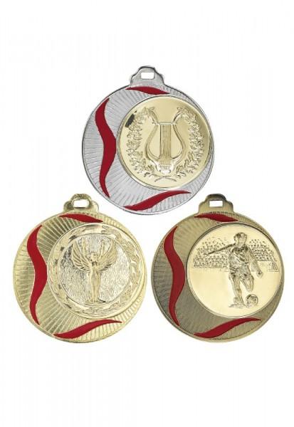 Emaillierte Medaille 70mm Masivmetall 085DC