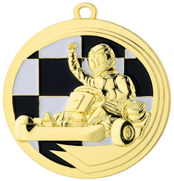 Motorsport Medaille Kart inkl. Band D39.01
