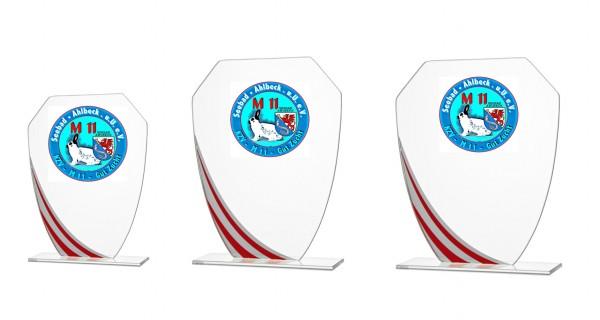 3er Serie Glasständer sind auch Einzel Bestellbar