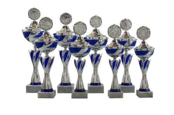 10er Pokalserie mit Deckel SA689