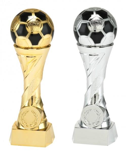 4er Serie Fußballständer Gold B822