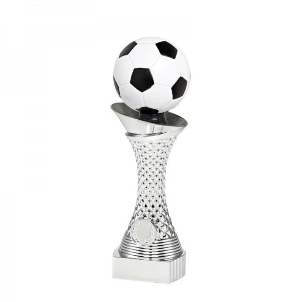 3er Serie Fußballständer Silber TB30