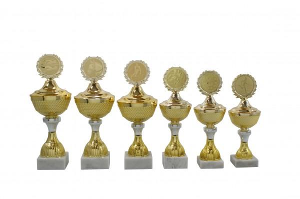 Pokal mit Deckel SA614 in 6 Größen Lieferbar