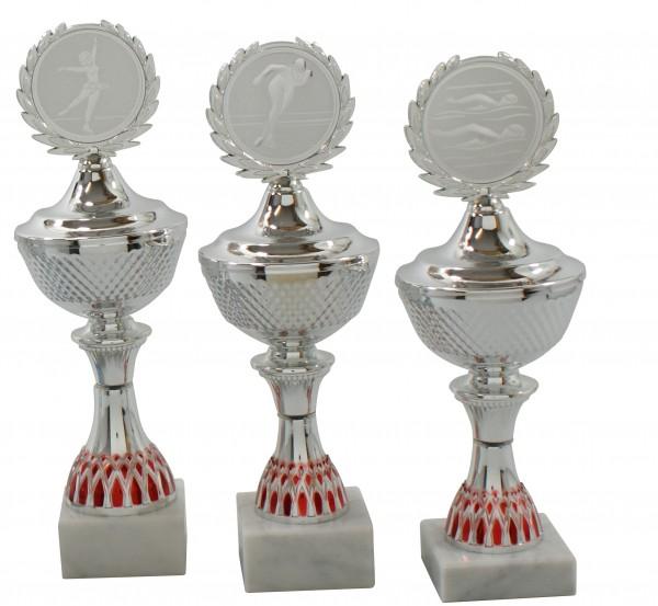 3er Pokalserie mit Deckel SA622