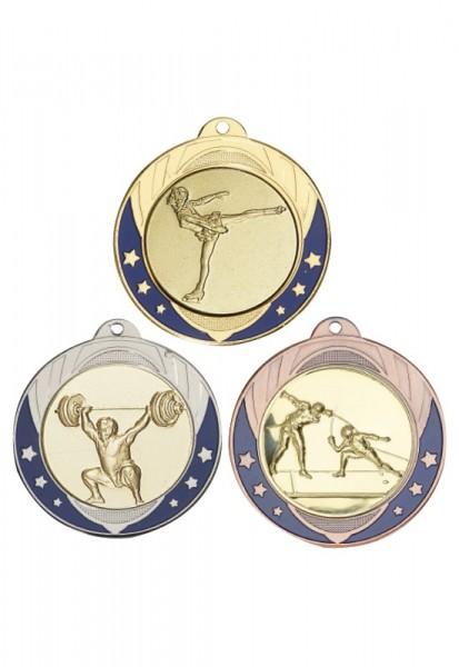 Emaillierte Medaille 70mm Masivmetall 052DC