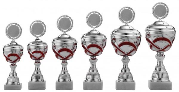 6er Pokalserie mit Deckel S490