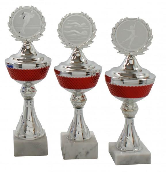 3er Pokalserie mit Deckel SA626