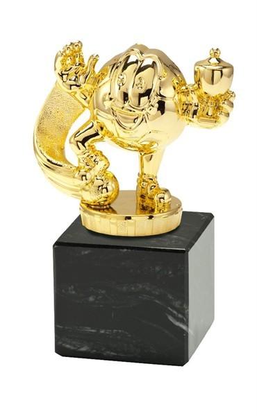 Kunststoff - Figur in Gold PF.100,06