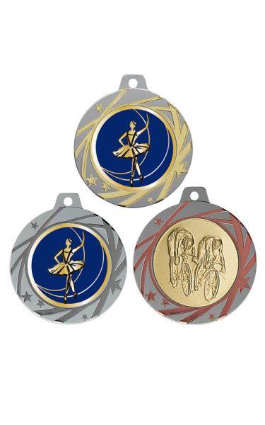 Hochhinaus Medaille Bicolores 70mm Medaille Lieferbar in Gold-Silber und Bronze