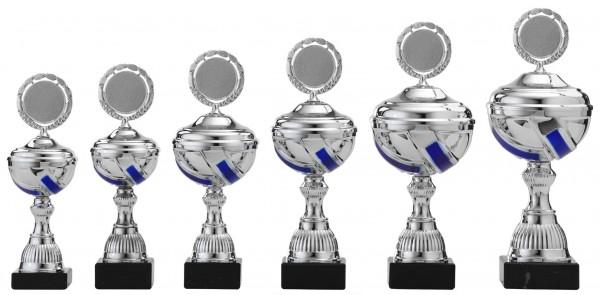 6er Pokalserie mit Deckel S499