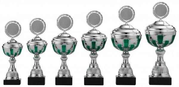 6er Pokalserie mit Deckel S491
